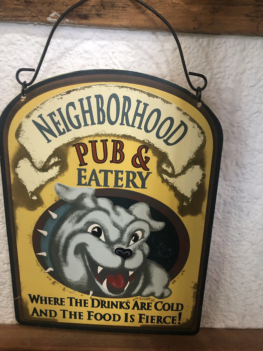 Pub and Eatery Sign - Outlet