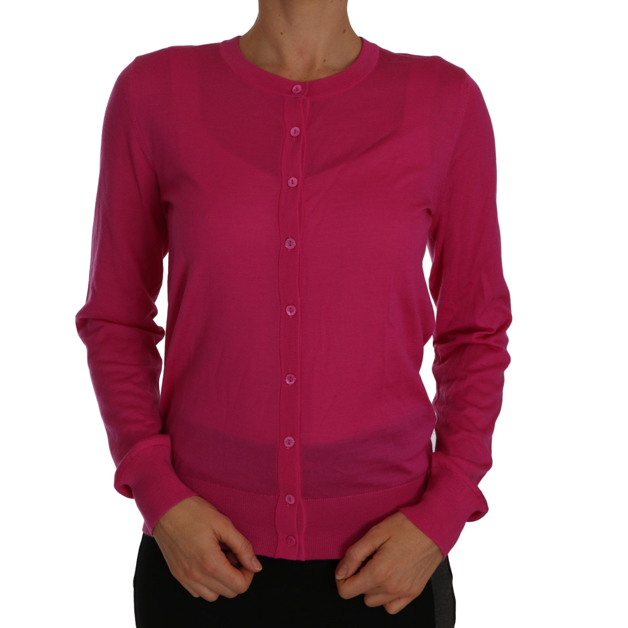 Pink Cashmere Cardigan Sweater Lightweight sweater