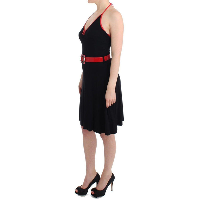 Black Belted Palladio Dress Roccobarocco