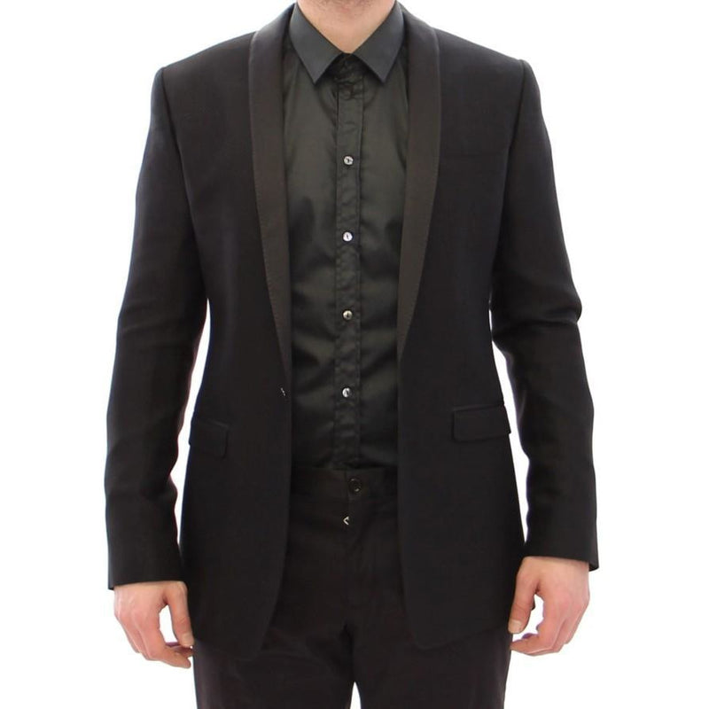 Black GOLD Slim Smoking Blazer Dolce & Gabbana