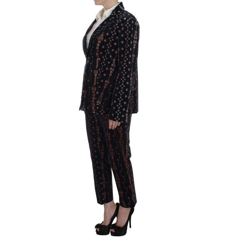 Black Wool Stretch Suit BENCIVENGA