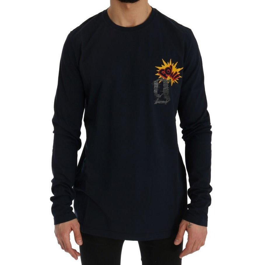 Blue Motive POW Long Sleeve T-Shirt Galliano