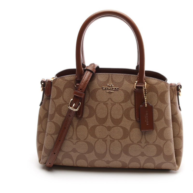 Coach Mini Sage Carryall Bag In Signature Canvas HANDBAG Coach