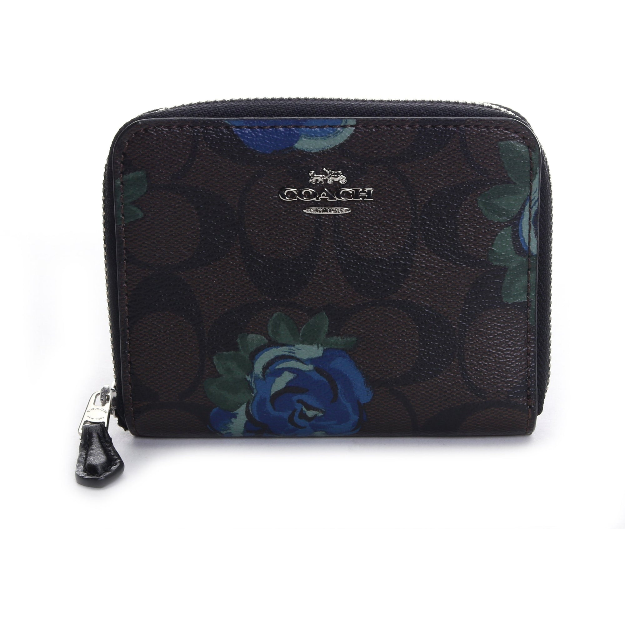 Coach Signature Flower Pattern Folding Wallet HANDBAG Coach