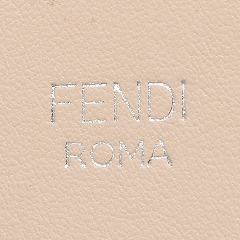 Fendi Shopping Bag Runaway Calf Leather Soap + Moresco tan/ brown Bag 8BH343