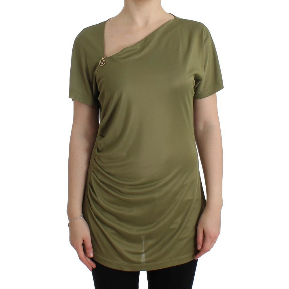 Green blouse top Cavalli