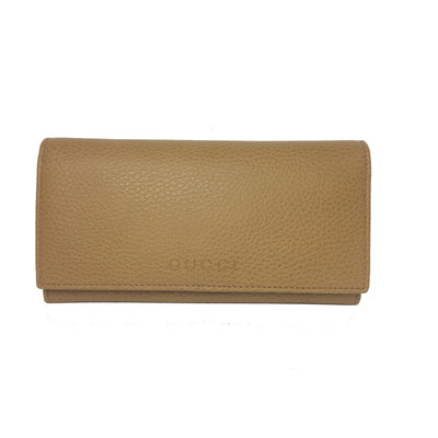 Gucci Beige Medium Leather Continental Flap Wallet for Women 346058 Wallets Gucci