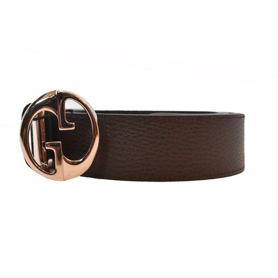 Gucci Belt Reversible Brown and Navy 449715 Size 38 Belts Gucci