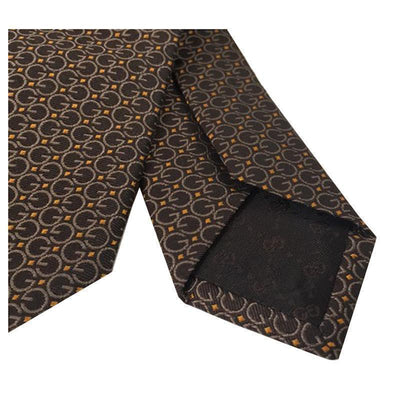 Gucci Men's Brown G Necktie 325875 Neckties Gucci