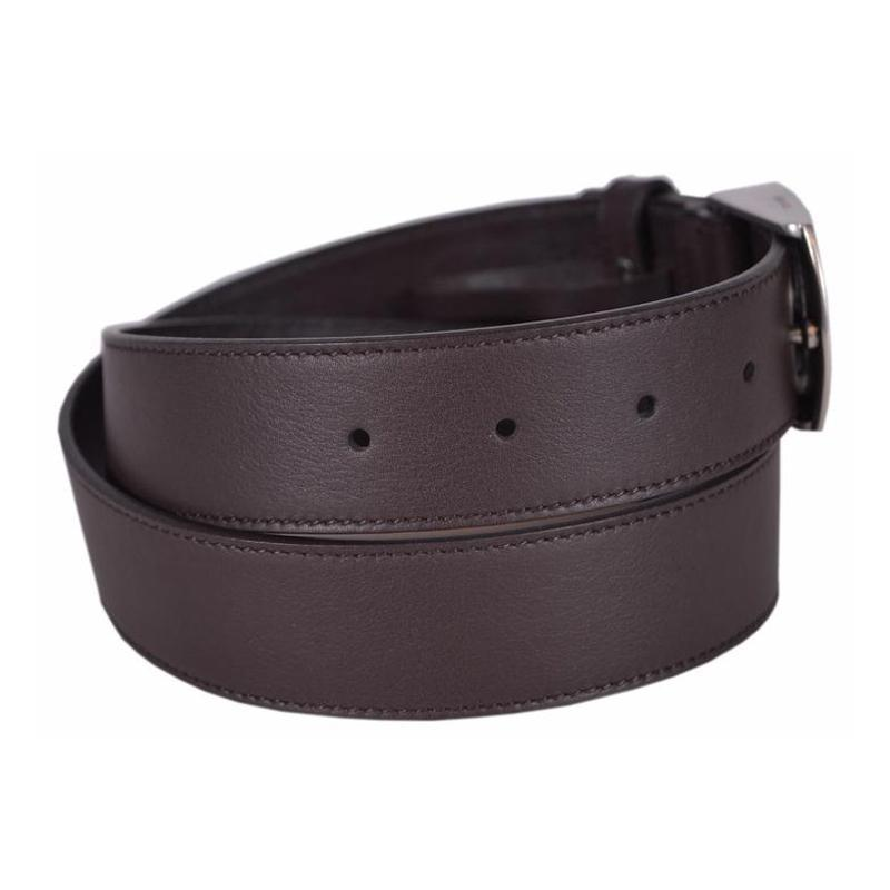 Gucci Men's GG Logo Brown Belt 387031 Size: 32 Belts Gucci