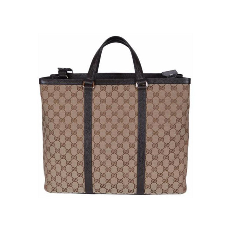 Gucci Unisex Brown Original GG Shopping Tote Handbag 449169