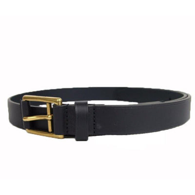 Gucci Unisex Navy Blue Gold Feather Belt 375182 Size: 90/36 Belts Gucci