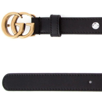 Gucci Women's Black GG Moon Belt 466479 Size: 90/36 Belts Gucci
