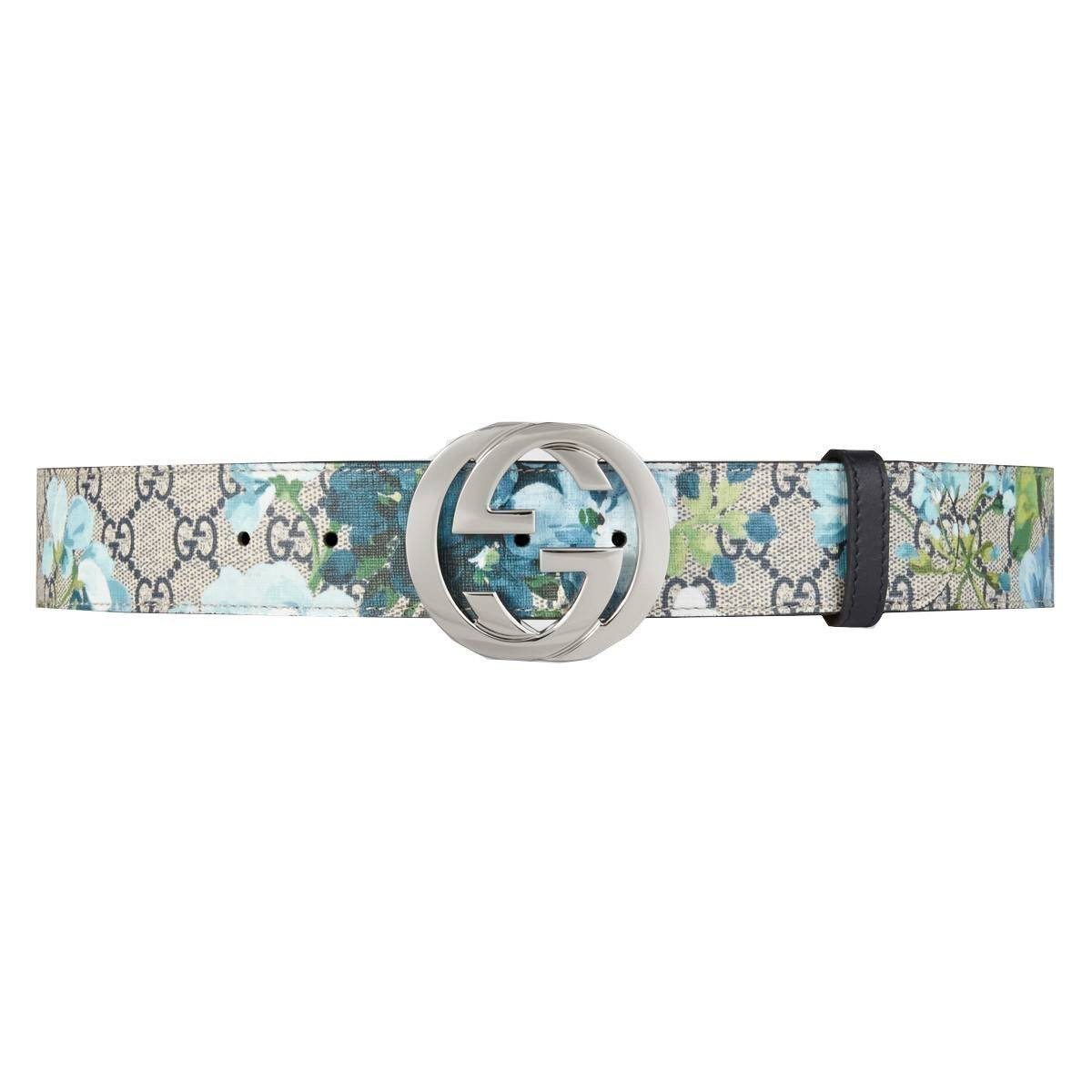 Gucci Women's Blooms GG Belt 411924 Size: 110/44 Belts Gucci