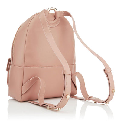 Jimmy Choo Cassie Ballet Pink Nappa Round Studded Backpack