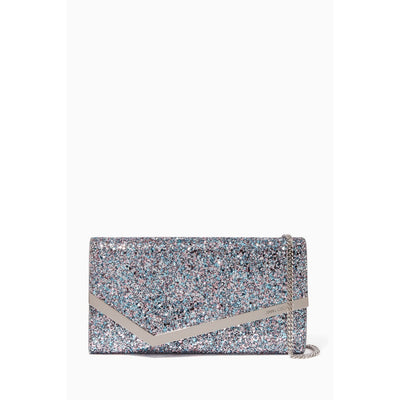 Jimmy Choo Emmie Bubblegum Mix Glitter Handbag CGF/0C6944