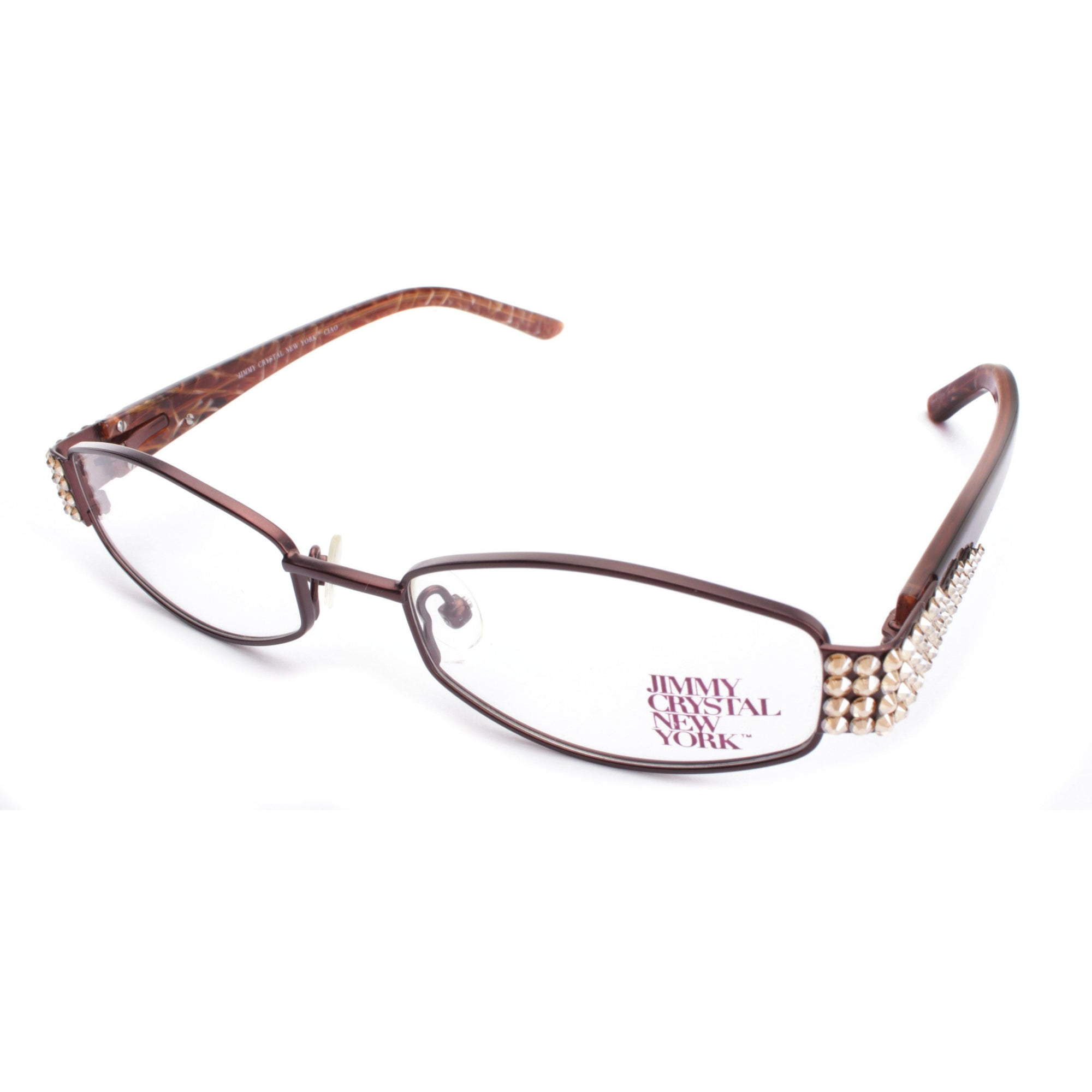 Jimmy Crystal Ciao Np-Brown Optical Jimmy Crystal