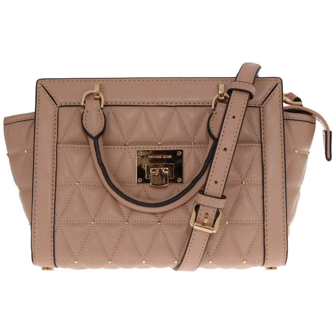 Multicolor VIVIANNE Patent Messenger Bag Michael Kors