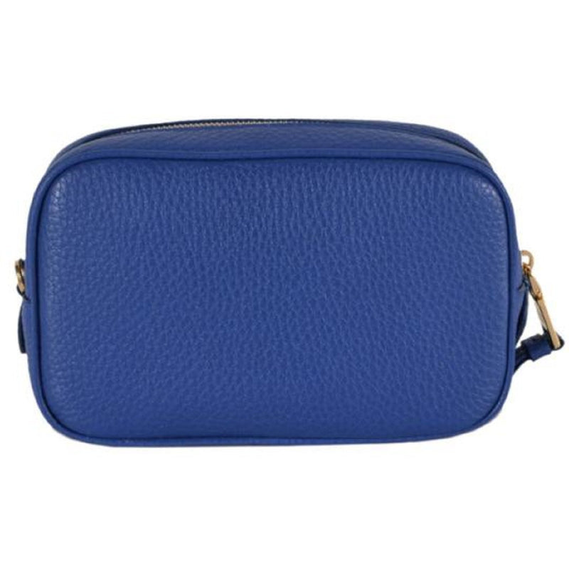 Prada Contenitore Royal Blue Vitello Daino Leather Vanity Case 1ND007