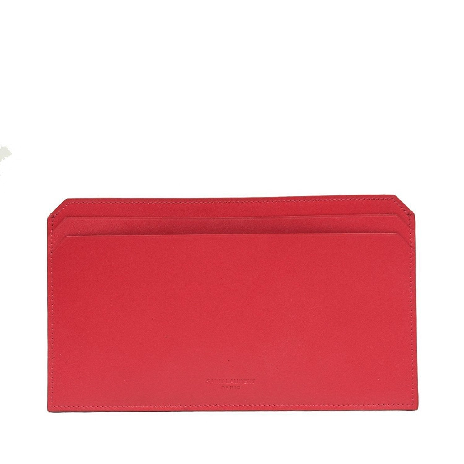 Saint Laurent Women's Lipstick Pink Classic Leather Document Holder 315875