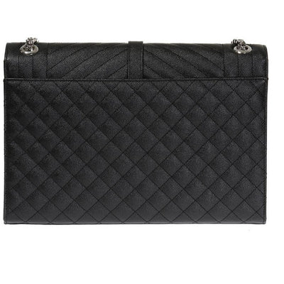 Saint Laurent YSL Black Large Envelope College Monogram Handbag 396910 Handbags Saint Laurent