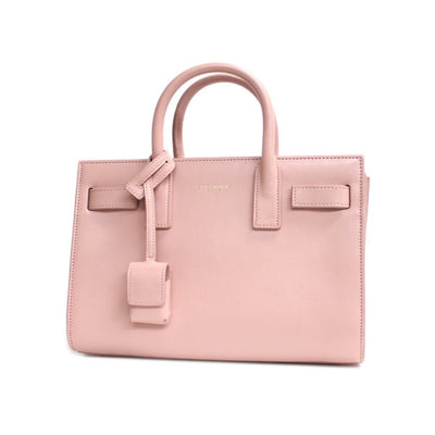 Saint Laurent YSL Women's Pale Pink Mini Handbag 340778 Handbags Saint Laurent