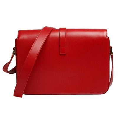 Saint Laurent YSL Women's Red Barca Crossbody 357403 Handbags Saint Laurent