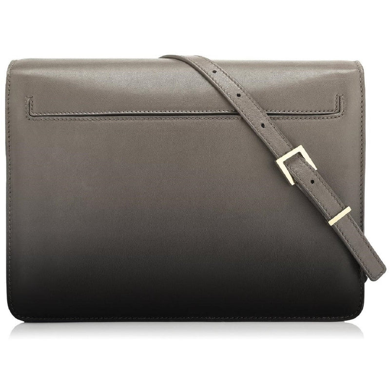 Tom Ford Large Patent Grey Leather Shaded Calf Sienna Shoulder Bag L0871T Handbags Tom Ford