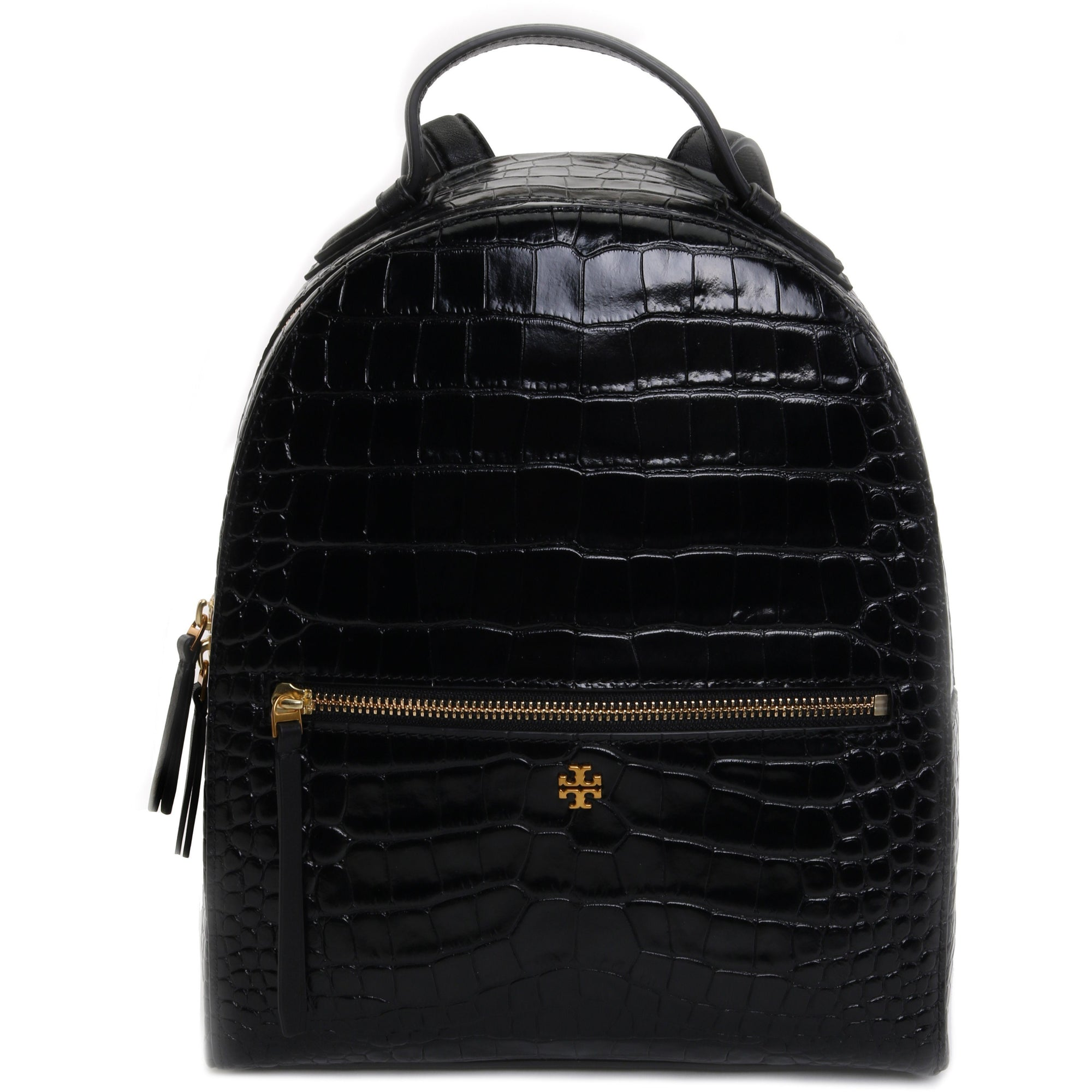 Tory Burch Croc-Embossed Mini Backpack HANDBAG Tory Burch