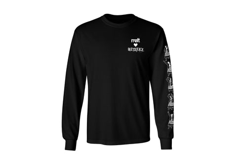 Levitating Lydia Long-sleeve Unisex Shirt