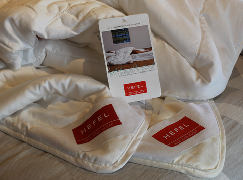 Hefel duvet samples