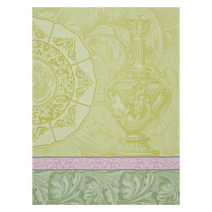 Baroque Porcelaine Green Tea Towel