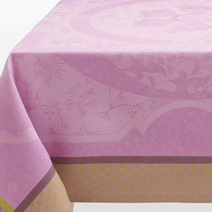 "Duchesse Pink Tablecloth 69"" x 69"""