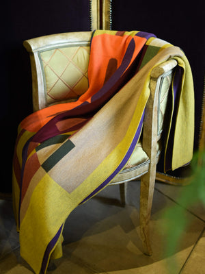 Etro Retro Throw Mustard
