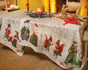 Tessitura Forest Party Tablecloth