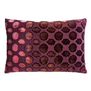Fretwork Wildberry Pillow