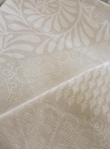 Bosphore Blanc Table Linens