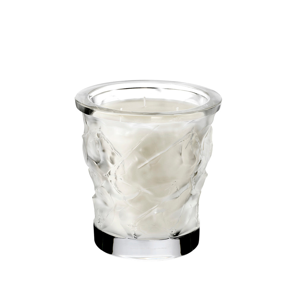 Lalique Crystal - Oceans Candle Vase