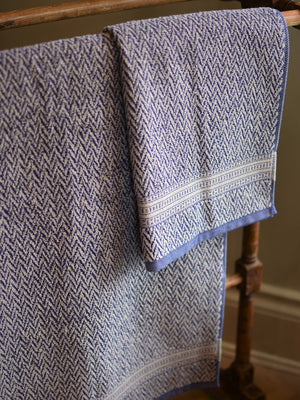 Leitner Kiefer Navy Blue towels