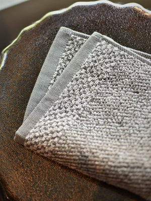 Tweed Terra Washcloths
