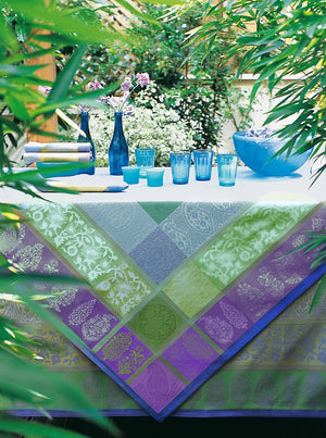 Sari Blue table topper