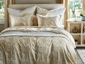 SDH Ombra Tan King Set - Duvet Cover and Shams