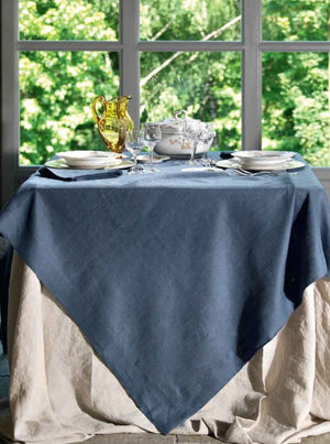 Tiziano slate tablecloth