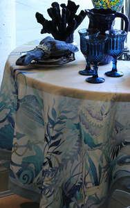 Coral Table Linens
