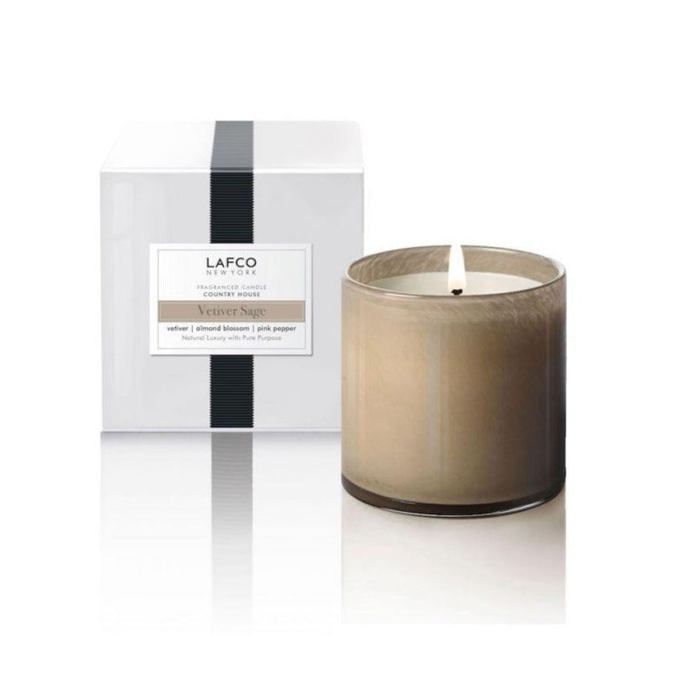 Lafco Vetiver Sage Scented Candle 15.5 oz