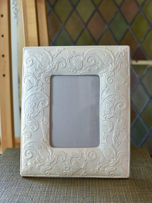 ETRO Tone on Tone Paisley Picture Frame