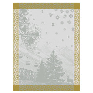 Sommets Enneigés Snow Tea Towel