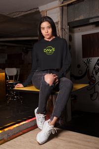 Crop Hoodie- Volt - Dave D'Marco Clothing