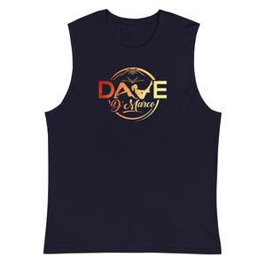 Muscle Shirt -sunset logo (front logo only) - Dave D'Marco Clothing