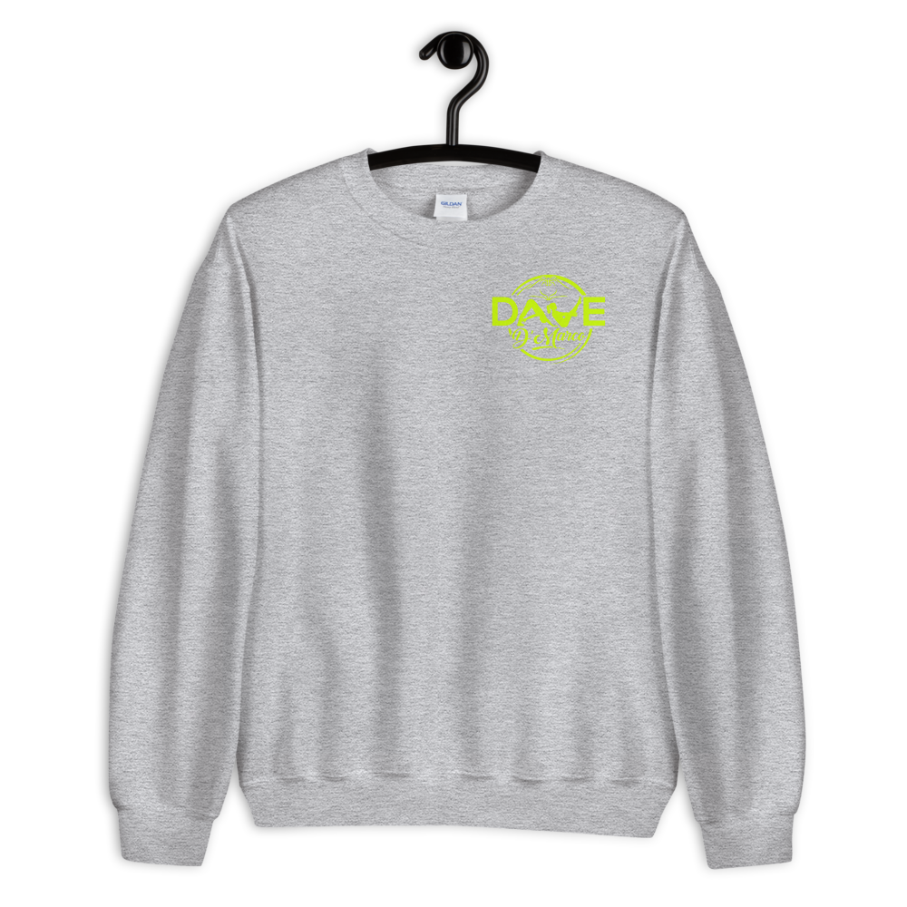 Volt green logo Sweatshirt - Dave D'Marco Clothing